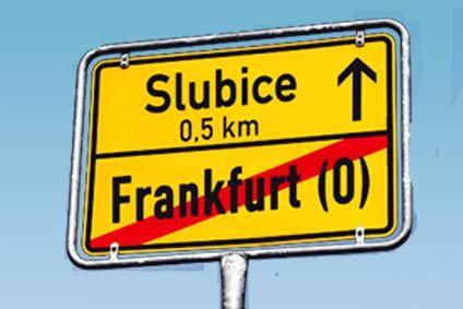 Zahnklinik in Slubice an der deutschen Grenze bei Frankfurt/Oder