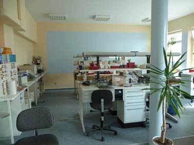 Zahnklinik in Slubice - eigenes Labor